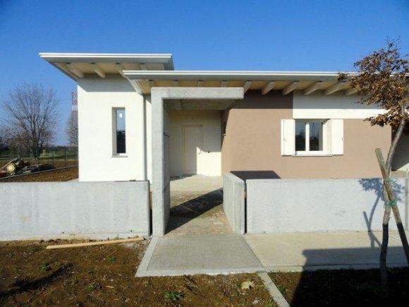 Villa bifamiliare friuli edil tomada for Architettura ville moderne