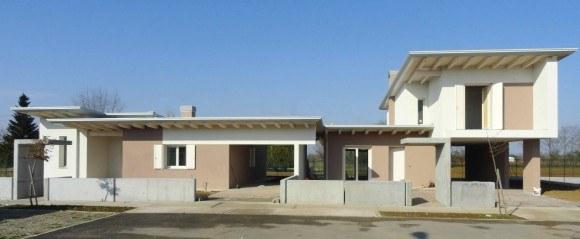 Villa bifamiliare friuli edil tomada for Piani e progetti di case contemporanee